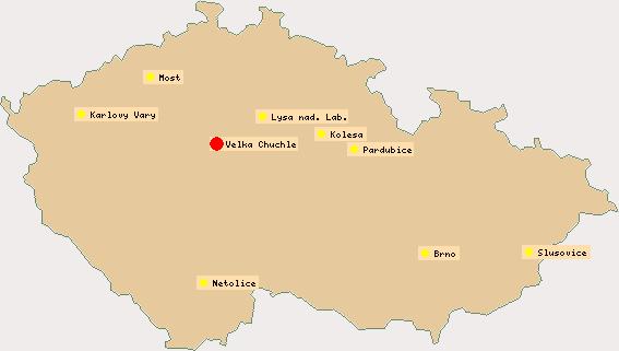 mapa zavodist